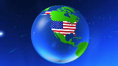 3Dworld USA Stock Footage