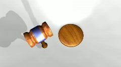 Judges Hammer Stock Footage