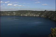 Blue Lake Mount Gambier Australia Stock Footage