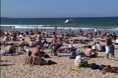 Australia Manly Beach Stock Footage
