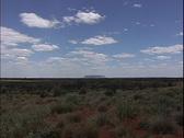 Australia Mount Connor Stock Footage