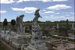 Australia Old cemetery Barossa Stock Footage