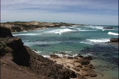 Australia Surf Great Ocean Road Stock Footage