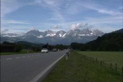 Austria Hiway & Alps Austria Stock Footage