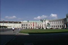 Austria Vienna Hofburg Palace Stock Footage