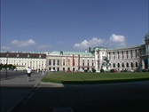 Stock Video Footage of Austria Vienna Hofburg Palace