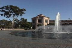 Balboa park San Diego Stock Footage