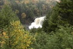 Blackwater Falls WV Stock Footage