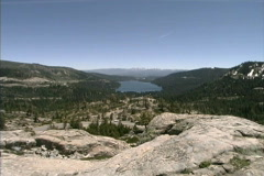 CA Donner Pass Stock Footage