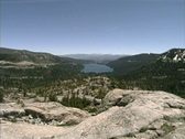 Stock Video Footage of CA Donner Pass