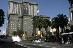 CA Union Square San Francisco Stock Footage