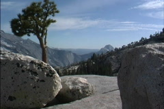 CA Yosemite high country - stock footage