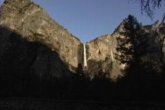 CA Yosemite waterfall  Stock Footage