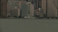 Stock Video Footage of Watertaxi, New York City
