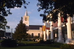 Church St Martinsville LA Stock Footage