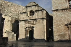 -Dubrovnik Church of the Saviour Stock Footage