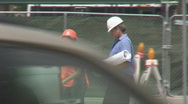 Stock Video Footage of Construction supervisors on site - Series 2 - 6