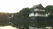 Stock Video Footage of Imperial Palace In Tokyo