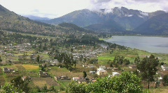 Lake in Ecuador  Stock Footage