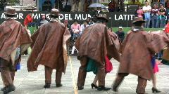 Ecuador Mitad del Mundo dances Stock Footage