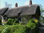 England Ann Hathaway's Cottage Stock Footage