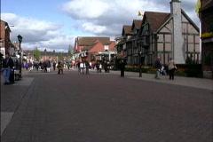 England Stratford Upon Avon Stock Footage