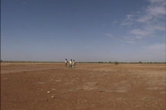 Environmental Issues Desertification the Sahel Mali  - stock footage