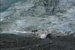 Glacier front 1995 AK Stock Footage