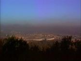 Environmental Issues Smog over Guadalajara Stock Footage