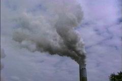 Smoke plume  Stock Footage