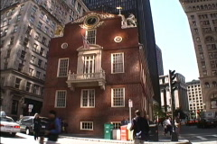 Faneuil Hall Boston MA Stock Footage