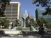 Stock Video Footage of Fountain Adelaide