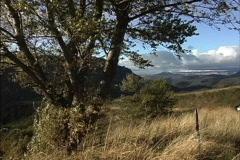 France Cevennes landscape Stock Footage