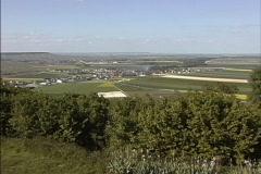 France Champagne landscape Stock Footage