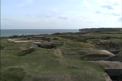 France D-Day beach Normandy Stock Footage