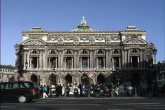 France Paris Academy of Music Stock Footage
