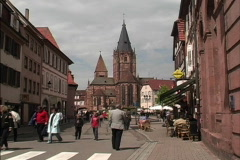 France Wissembourg Alsace Stock Footage