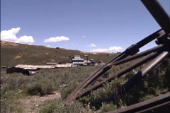 California Ghost town of Bodie  Stock Footage
