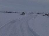 Arctic winter Canada Stock Footage