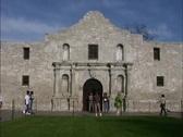 Alamo mission San Antonio Texas Stock Footage