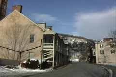 Harpers Ferry WV Stock Footage