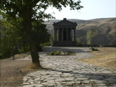 Stock Video Footage of Hellenistic temple Armenia