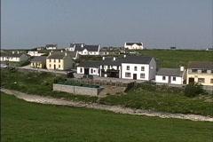 Ireland Doolin village Stock Footage