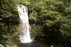 Ireland Glencar Waterfall  Stock Footage