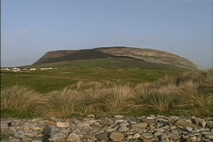 Ireland Knocknarea Co. Sligo Stock Footage