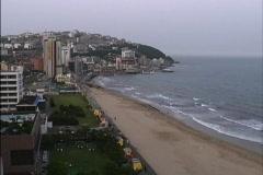 Korea Haeundae Beach Stock Footage