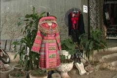Laos Traditional Laotian dress Stock Footage