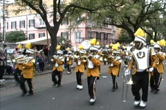 Mardi Gras New Orleans Band  - stock footage