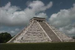 Maya Cities Chichen Itza Castillo Stock Footage