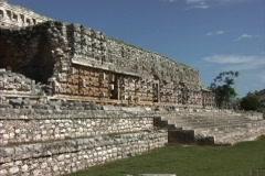 Maya Cities Kabah Palace of Masks Stock Footage